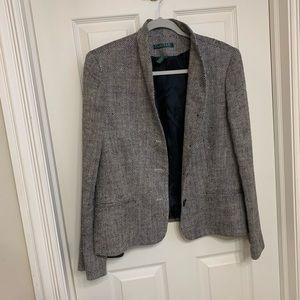 Herringbone Ralph Lauren blazer jacket